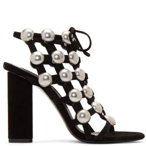 Alexander Wang cage lace-up sandals